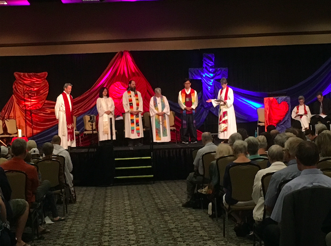 Rev Sunny's admission as an ordained minister to BC Conference